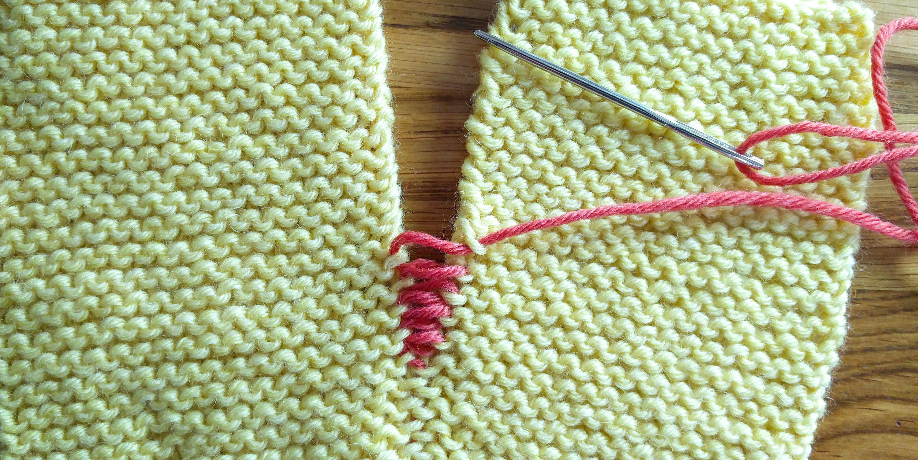 Invisible Seams In Garter Stitch Knit With Henni
